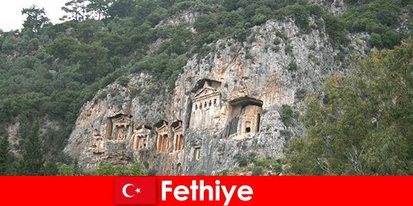 Orașul Fethiye din sud-vestul Turciei