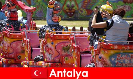 O vacanță de familie frumos în Antalya, în Turcia