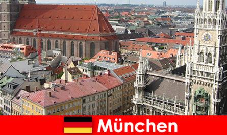 Ca un turist cu opțiuni de jogging sau fitness în orașul München