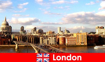 Activități de agrement pentru turiști în orașul Londra din Anglia