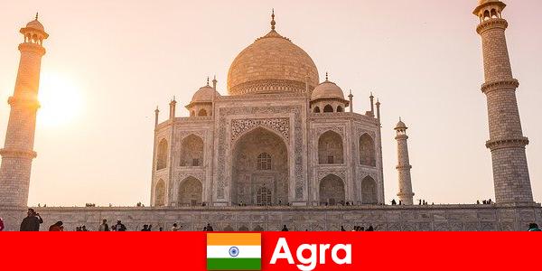 Complexe de palat impresionante în Agra India este un sfat de călătorie pentru turiști