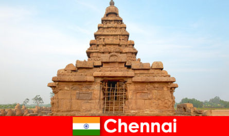 Străinii Chennai iubesc frumusețile patrimoniului mondial UNESCO