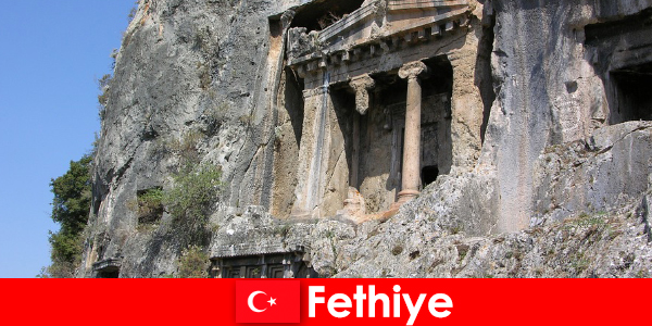 Fethiye un oraș antic de mare, cu multe monumente