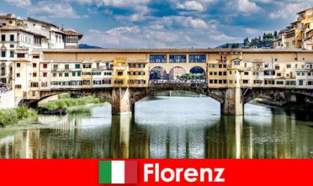 Ca un pensionar cu familie și copii emigrează la Florența