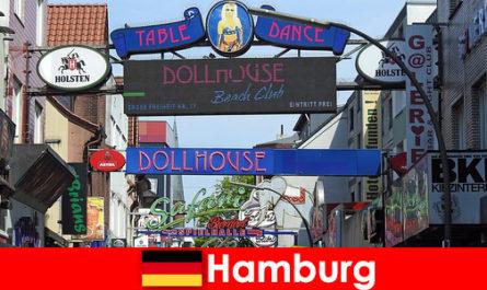 Hamburg Reeperbahn - Bordeluri de noapte și servicii de escortă pentru turismul sexual