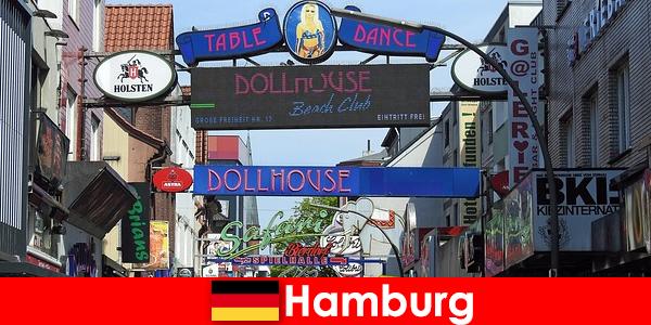 Hamburg Reeperbahn – Bordeluri de noapte și servicii de escortă pentru turismul sexual