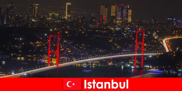 Viața de noapte în pub-uri din Istanbul, baruri și cluburi pentru tineri