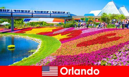 Orlando capitala turistică a Statelor Unite, cu numeroase parcuri tematice