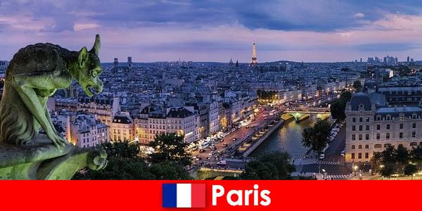 Paris un oraș artist cu o fascinație specială cu clădiri