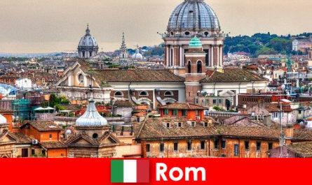 Roma Cosmopolitan oraș cu multe biserici și capele un punct de contact pentru străini