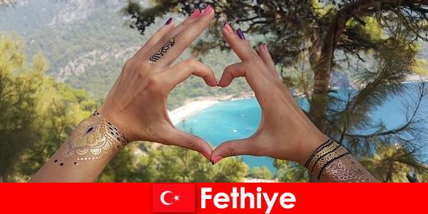 Vacanțe pe plajă în Turcia Fethiye pentru tineri și bătrâni întotdeauna un vis