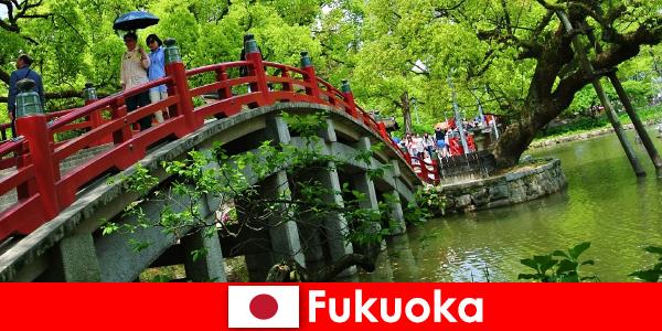 Fukuoka este o atmosferă relaxată și internațională, cu o înaltă calitate a vieții imigranților