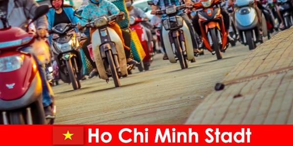 Ho Chi Minh oraș pentru bicicliști și pasionații de sport turisti întotdeauna o plăcere