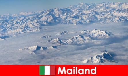 Milano una dintre cele mai bune statiuni de schi pentru turisti in Italia