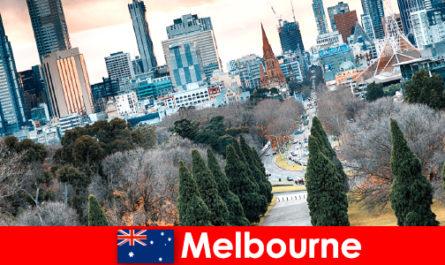 Diversitatea culturală din Melbourne încântă, de asemenea, pauze scurte