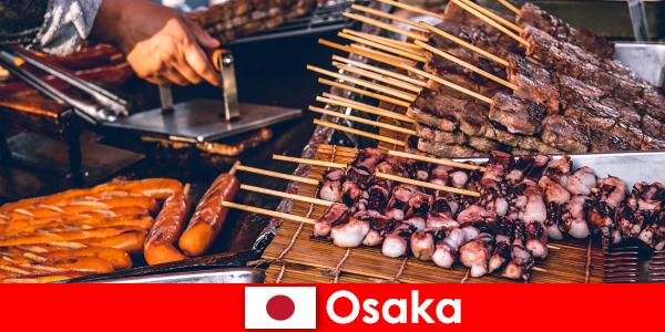 Osaka este bucătăria din Japonia și un punct de contact pentru oricine caută o aventură de vacanță