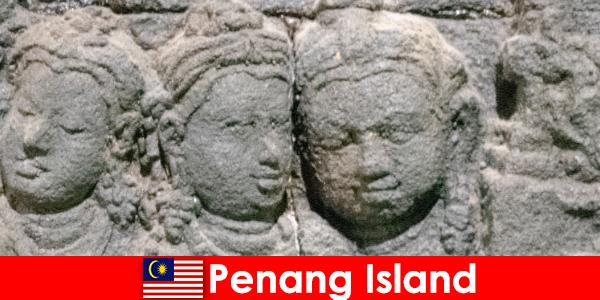 Penang Island are multe atracții și evidențiază mare într-o singură