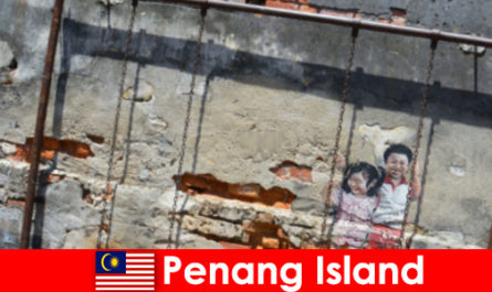 Fascinanta si diversa arta stradala din Insula Penang uimeste strainii
