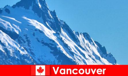 Orașul Vancouver din Canada este principalul obiectiv al turismului alpinism