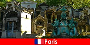 Excursie europeană pentru iubitorii de cimitire cu locuri de înmormântare extraordinare în Franța Paris
