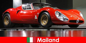 Milano Italia este întotdeauna o destinație populară pentru iubitorii de mașini din întreaga lume