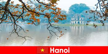 Hanoi Vietnam Jade Mountain Temple and Literature Temple încântă turiștii
