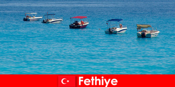 Turcia Blue Trip și Plaje albe așteaptă cu nerăbdare turiști Fethiye pentru recreere