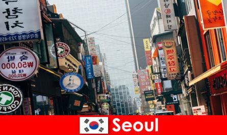 Seulul în Coreea, orașul interesant al luminilor și al publicității pentru turiștii de noapte