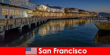 San Francisco, în Statele Unite, districtul waterfront este un favorit secret al turiștilor