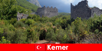Excursie de studiu la ruinele antice la Kemer Turcia pentru exploratori