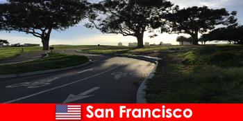 Tur exploratoriu pentru străini cu bicicleta în San Francisco Statele Unite