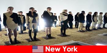 Excursie culturală pentru străini în faimosul cartier de teatru din New York Statele Unite