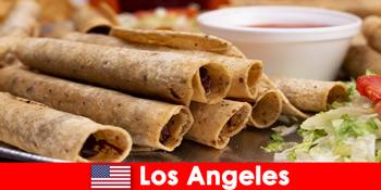 Vizitatorii străini se pot aștepta la un eveniment culinar versatil în cele mai bune restaurante din Los Angeles Statele Unite