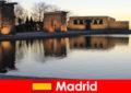 Destinație populară pentru excursii la Madrid Spania pentru studenții europeni