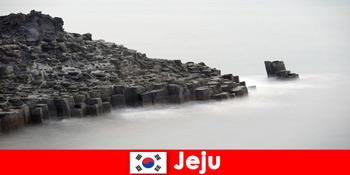 Străinii explorează excursii populare în Jeju Coreea de Sud