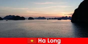 Vacanță perfectă în Ha Long Vietnam pentru turiștii stresați din străinătate